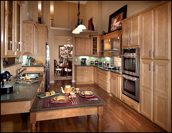 Exceptionnel Accessible Kitchen, Multi Height Countertops